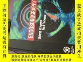 二手書博民逛書店英文原版罕見Endosonography: Text with DVD腔內超聲:帶DVD的文本,Y478501