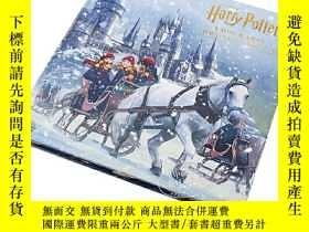二手書博民逛書店哈利波特:霍格沃茲學校聖誕立體書罕見英文原版 Harry Pot