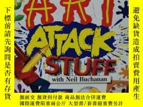 二手書博民逛書店Great罕見Art Attack StuffY7849 Neil Buchanan Gardners Boo