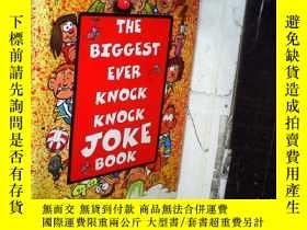 二手書博民逛書店《兒童笑話集》the罕見biggest ever knock k