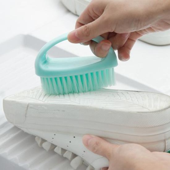 多用途清潔刷 家用 塑料 小刷子 洗衣刷 洗鞋 軟毛刷 洗衣刷 清潔刷 炫彩 塑料【M178】MY COLOR