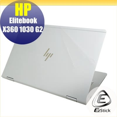 【Ezstick】HP X360 1030 G2 二代透氣機身保護貼(含上蓋貼、鍵盤週圍貼、底部貼)DIY 包膜