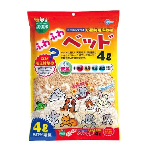 【zoo寵物商城】日本《Marukan》小動物用蓬鬆木屑-4L*1包(MR-20)