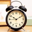 鬧鐘-北歐小鬧鐘床頭夜光學生用兒童靜音創意時鐘臥室鐘表鬧鈴超大聲音 Korea時尚記