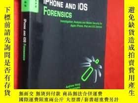 二手書博民逛書店iPhone罕見and iOS Forensics: Inves