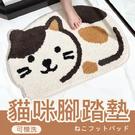 【可機洗/超吸水防滑】貓咪吸水墊 卡通動物造型 踏墊 防滑墊 浴室 臥室【AAA6241】預購