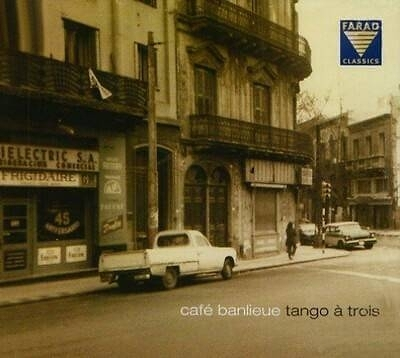 【停看聽音響唱片】【CD】Tango à trois - Café Banlieue