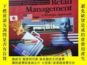 二手書博民逛書店【罕見】retail management a strategi