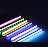 led日行燈改裝COB日間行車燈超薄大功率車外燈裝飾燈通用 萬客居