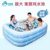 嬰兒童充氣游泳池家庭寶寶成人小孩戲水池