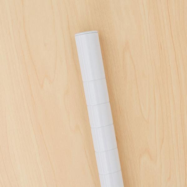 鎖管/鐵管/鐵架配件【配件類】45公分烤漆白一吋上鎖管 dayneeds