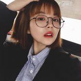 眼鏡框女韓版潮眼鏡男平光鏡圓臉眼睛框鏡架 俏腳丫