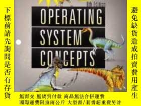 二手書博民逛書店Operating罕見System Concepts 8th Edition Binder Ready Versi