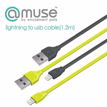 [NOVA成功3C]amuse lightning to usb cable(1.2m) 傳輸線.
