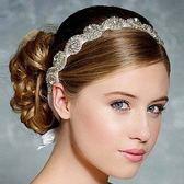 髮箍鑲鑽-時尚手工唯美新娘生日情人節禮物女頭飾2款73ex1【時尚巴黎】