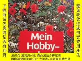 二手書博民逛書店德文原版:《Martin罕見Stangl Mein Hobby-der Garten》 有關園藝的書彩圖本Y1