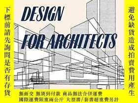 二手書博民逛書店Structural罕見Design for Architect
