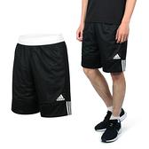 ADIDAS 男雙面籃球短褲(訓練 愛迪達 雙面球褲 運動短褲 免運 ≡排汗專家≡