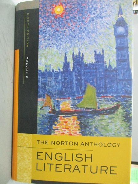 【書寶二手書T7/原文小說_XCG】The Norton Anthology of English Literature