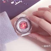 手錶夜光潮流ulzzang手錶女中學生韓版簡約休閒大氣電子表數字式運動【全館免運】