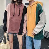 情侶裝 秋裝新款韓版寬松百搭原宿bf風衛衣秋季女學生外套