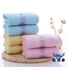 【5條裝】毛巾純棉成人洗臉家用柔軟厚男女全棉面巾【古怪舍】