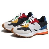 NEW BALANCE 休閒鞋 NB327 彩色 鋼彈 拼接 男女 (布魯克林) MS327PBB