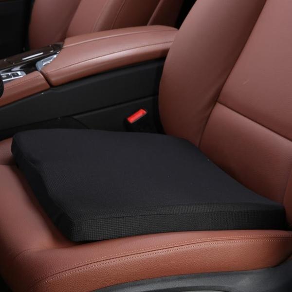汽車增高坐墊記憶棉學車練車加厚考駕照駕駛座墊辦公室加厚椅墊夏【新年特惠】