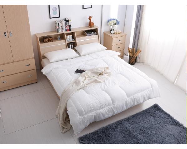 抽屜床組 北歐都市風【6抽屜床底+加高床頭】5尺雙人床組 (床頭箱+床底+床邊櫃+衣櫃)4件組【YUDA】