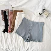 純色安全褲女士純棉打底短褲防走光四角褲子