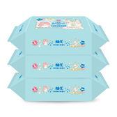 嬌生嬰兒純水柔濕巾20片x3【康是美】