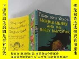 二手書博民逛書店Horrid罕見Henry and the Bogey Babysitter: 可怕的亨利和那個可怕的保姆...奇