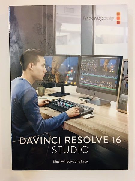 【達芬奇】 Blackmagic DaVinci Resolve 16 Studio Dongle 調色剪輯軟體