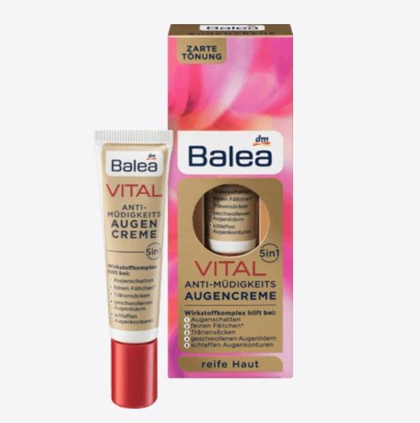 德國Balea 5合1多功能營養舒緩抗老化眼霜