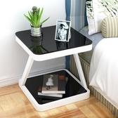 簡易床頭櫃簡約現代臥室組裝床頭桌收納櫃子迷你個性儲物櫃床邊櫃Mandyc