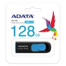 ADATA 威剛 UV128 128G USB3.1行動碟 (黑藍)