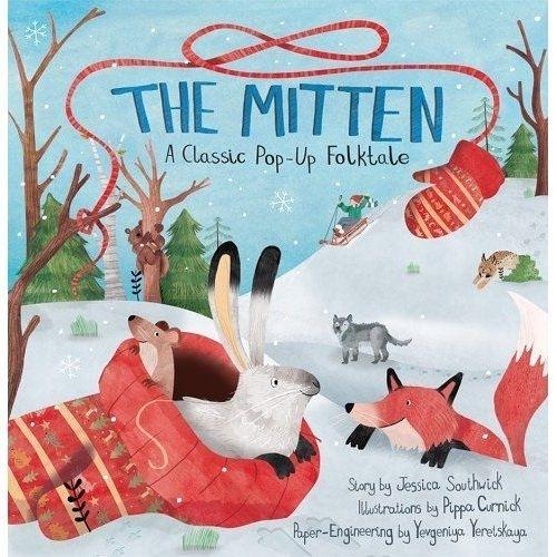 The Mitten-A Classic Pop-Up Folktale 男孩的保暖手套立體故事書