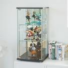 公仔模型 展示櫃 收納櫃 玻璃櫃【V0034】津澤直立式鏡面展示櫃85cm (兩色) MIT台灣製 完美主義