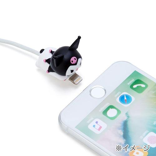 SANRIO 造型傳輸線保護套 iPhone咬線器 酷洛米_686255