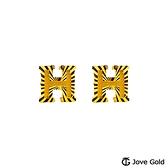 JoveGold漾金飾 時尚態度黃金耳環