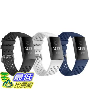 [9美國直購] TiMOVO Band Compatible with Fitbit Charge 3, [3-Pack]  錶帶
