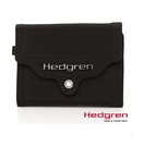 Backbager 背包族【比利時Hedgren】HSUB-地鐵小物系列-卡片/零錢夾(黑)