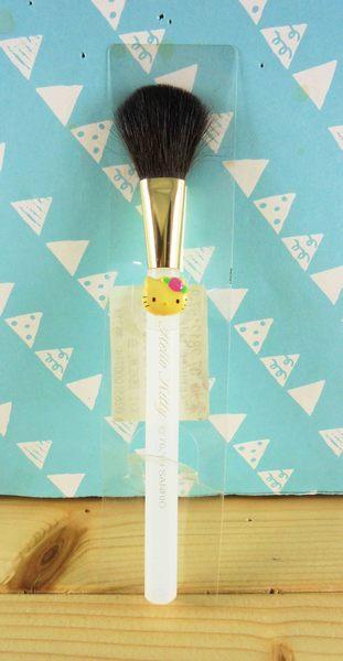 【震撼精品百貨】Hello Kitty 凱蒂貓~直立式腮紅刷『白』