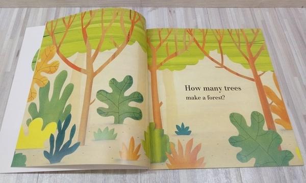 HOW MANY TREES? /平裝繪本《主題:環境保護》by Barroux