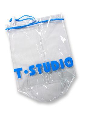 【T-STUDIO】 PVC泳裝束口袋