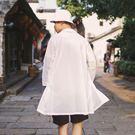 男士防曬衣夏季風衣中袖中長款開衫潮流衣服男薄款防曬衫·皇者榮耀3C旗艦店