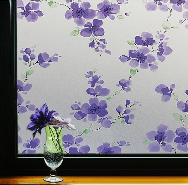 窗戶磨砂玻璃貼紙窗貼