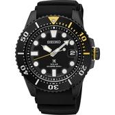 SEIKO 精工 PROSPEX SCUBA 太陽能腕錶-黑水鬼 V157-0BT0SD(SNE441J1)