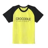 ~小鱷魚 ~吸濕排汗拼接透氣T 恤10 號18 號557415