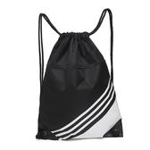 束口袋抽繩雙肩包2019新款輕便拉繩男女運動背包戶外折疊收納袋子 小宅女
